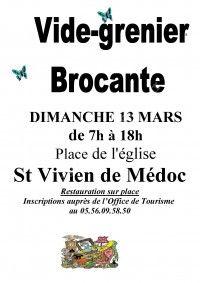 Brocante - Vide-Grenier le 13 Mars 2016 à Saint Vivien de Médoc Cac53e10