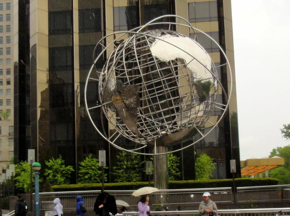 Globes terrestres visibles depuis les cieux 73517610