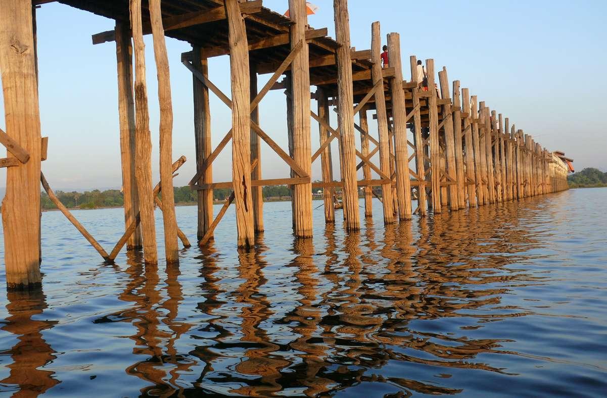 Les ponts en bois du monde. A115