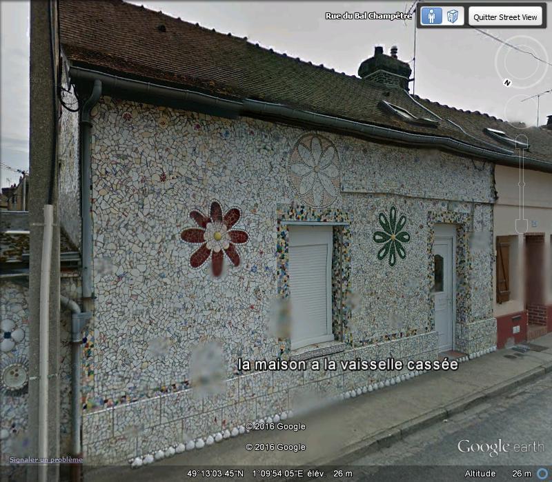 """La """"maison à la vaisselle cassée"""" - Louviers - Eure - France A120"""