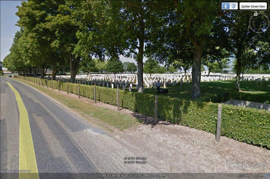 A la découverte des mémoriaux et cimetières militaires - Page 5 A121