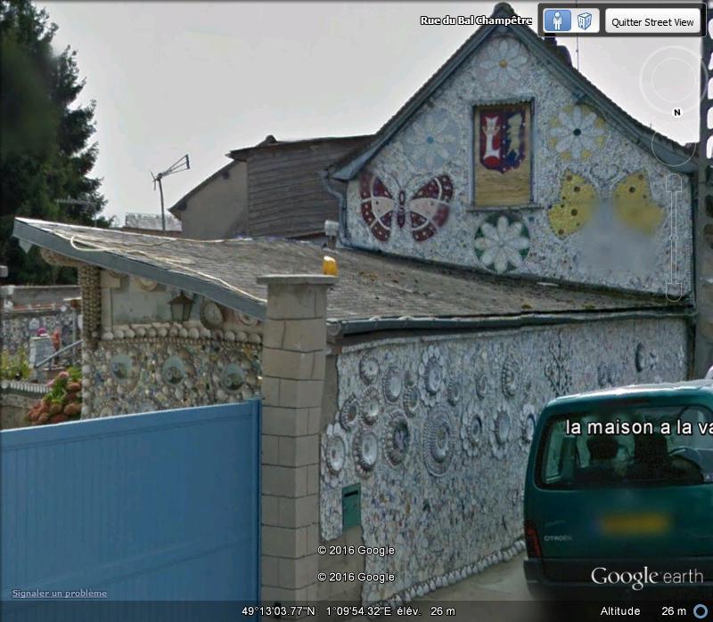 """La """"maison à la vaisselle cassée"""" - Louviers - Eure - France A215"""
