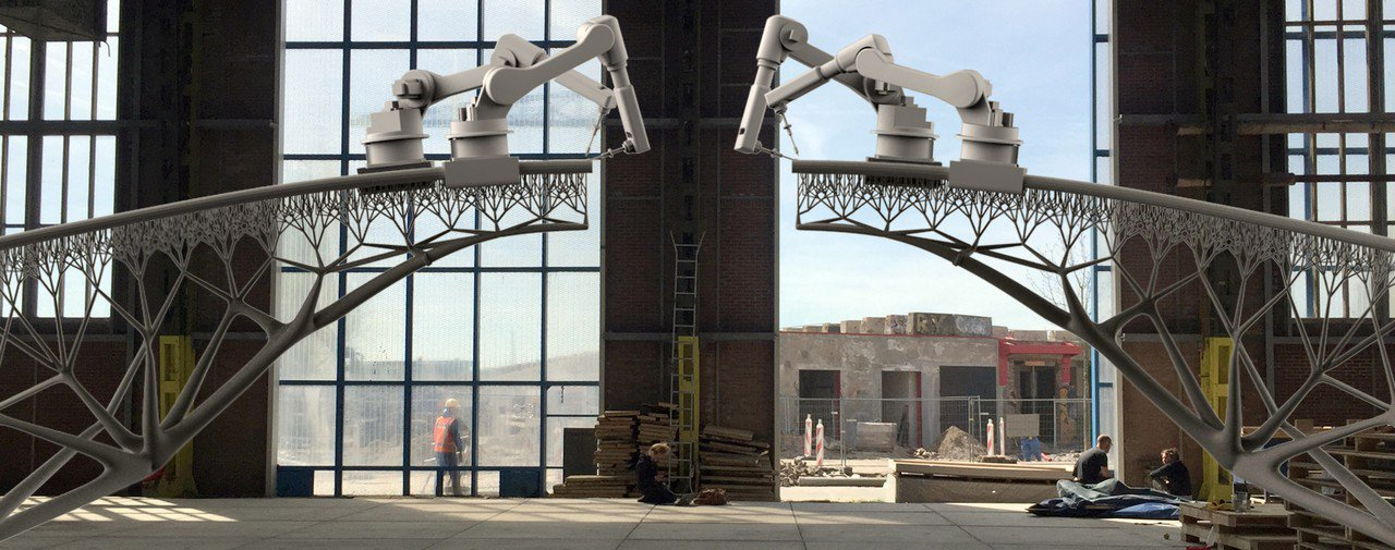 (Bientôt visible sur GE) Amsterdam, bientôt le premier pont réalisé grace à l'impression 3D File6o10