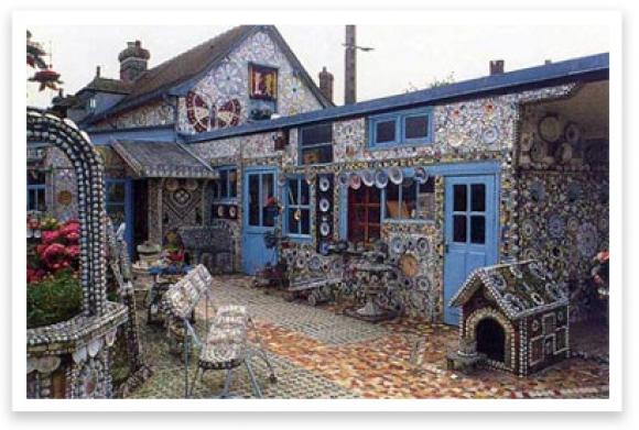 """La """"maison à la vaisselle cassée"""" - Louviers - Eure - France La-mai10"""