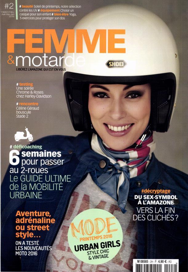 Femme et motarde:voilà le printemps.... Femm10