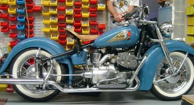 Moto légende:Indian 750 et Vincent 1000 Nero.... Indian11