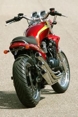 Harley Davidson revisité à la sauce Vd classic Millen11