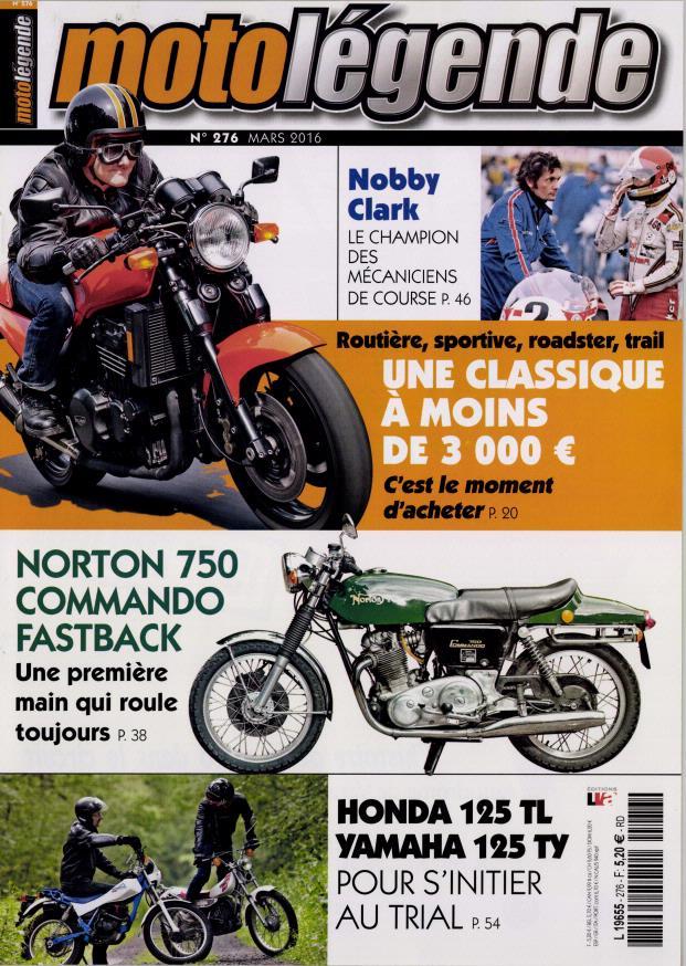 Moto légende:Une Norton de première main et Nobby Clark.... Ml10