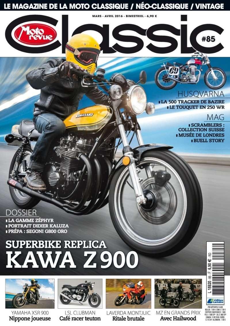 Moto revue Classic;Kawa Z 900 superbike réplica.... Mrclas10