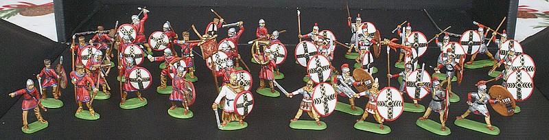 Infanterie lourde tardive romaine 1/72 Dsc05310