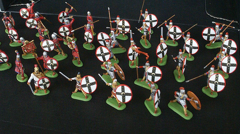 Infanterie lourde tardive romaine 1/72 Dsc05311