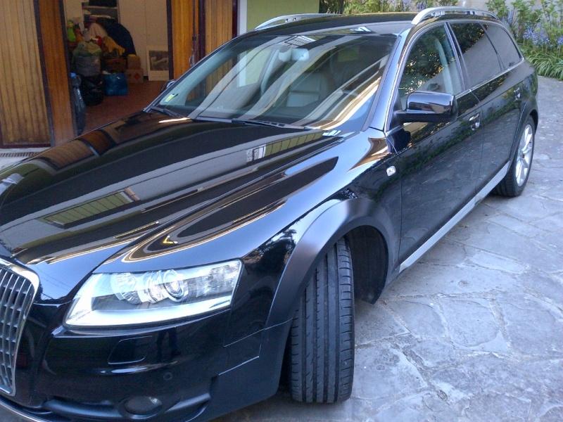 Opacizzazione modanature laterali Audi A6 Allroad 2008 Img-2011