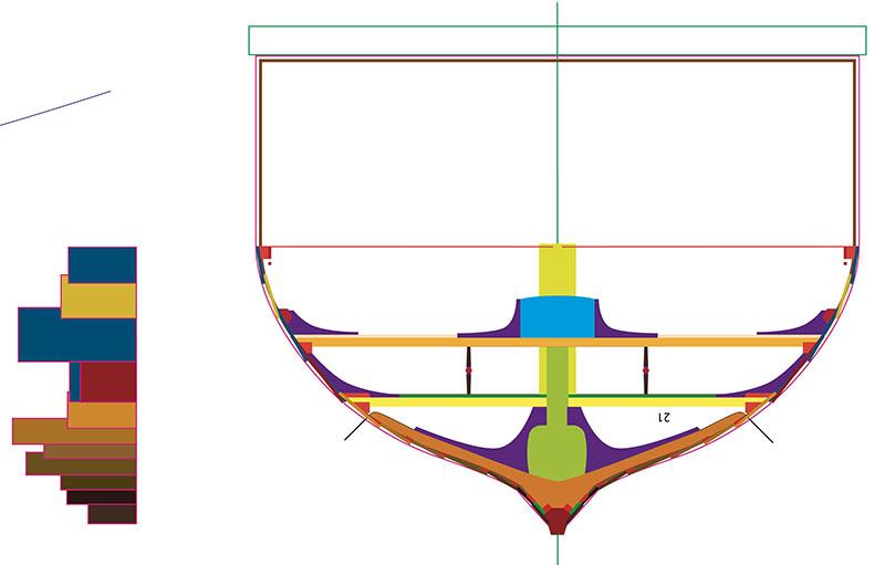 Wikinger-Boot Skuldelev 2 (1:20)  - Seite 4 Zeichn11