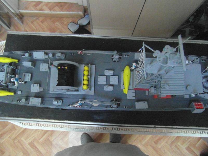 DRAGUEUR DE MINES LE DAHLIA M786 a l' échelle 1/35 sur plans  Sam_9511