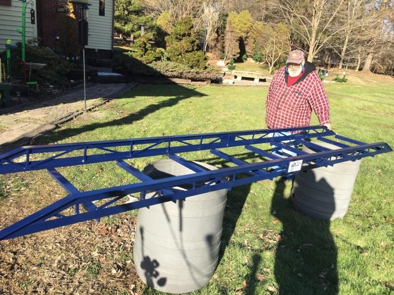 Bud's new bridge! Bridge10