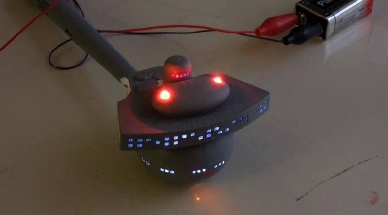Klingon Battle Cruiser D7- REVELL Dscn1512
