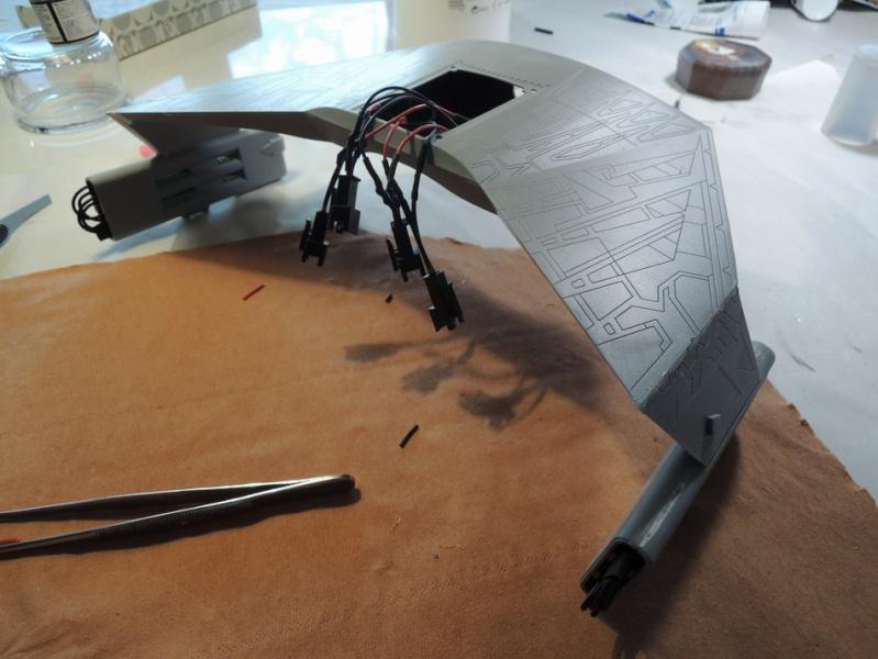 Klingon Battle Cruiser D7- REVELL Dscn1517