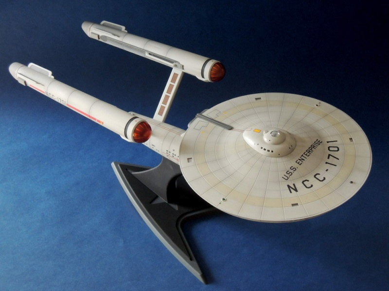 USS Enterprise NCC-1701 REVELL - Page 3 Dscn1618