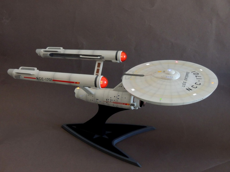 USS Enterprise NCC-1701 REVELL - Page 3 Dscn1625