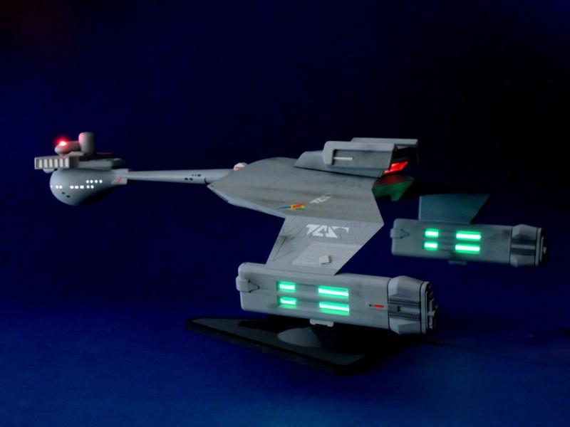 Klingon Battle Cruiser D7- REVELL Dscn1626