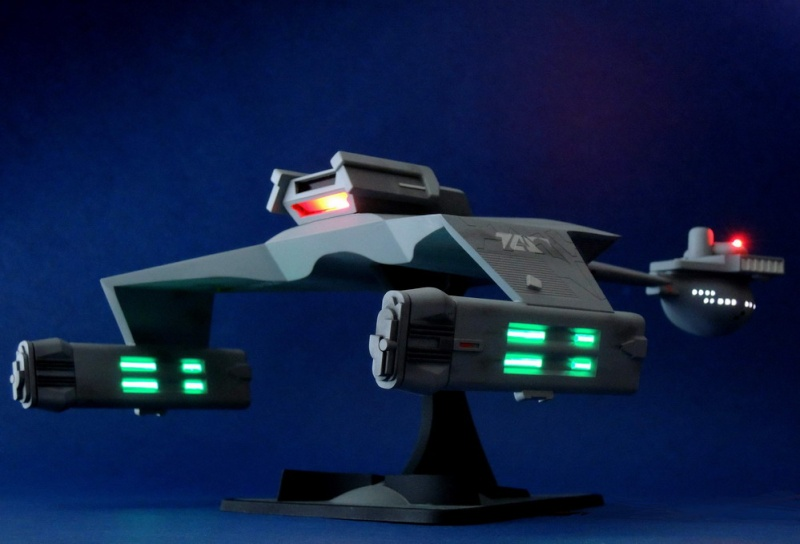 Klingon Battle Cruiser D7- REVELL Dscn1629