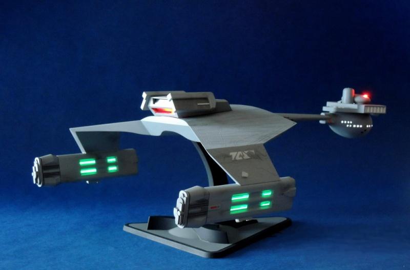 Klingon Battle Cruiser D7- REVELL Dscn1630