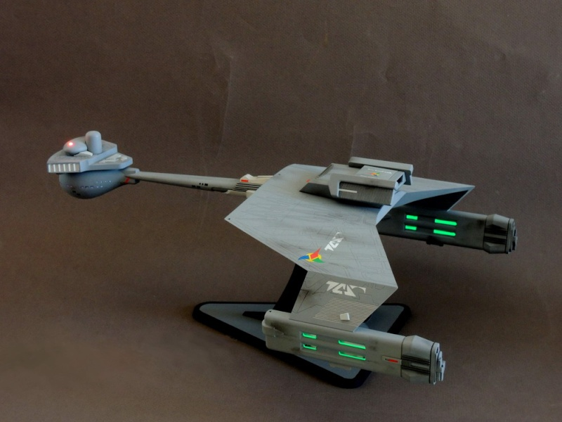 Klingon Battle Cruiser D7- REVELL Dscn1632