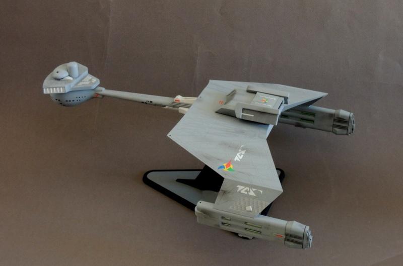 Klingon Battle Cruiser D7- REVELL Dscn1633