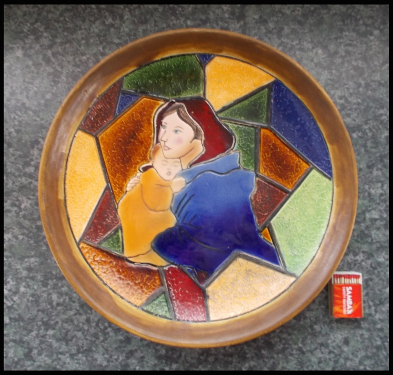 "Magnificient Orzel ""stained glass window"" range plaque Dscn8015"