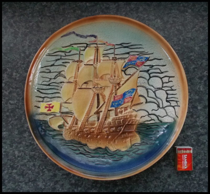 Gorgeous Orzel Galleon wall plaque for gallery Dscn8017