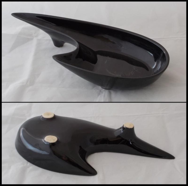 Black Titian look ikebana bowl  ??? Dscn8027