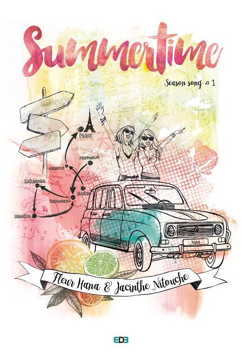 HANA Fleur &  NITOUCHE Jacinthe - SEASON SONG - Tome 1 : Summertime  Ob_8b910