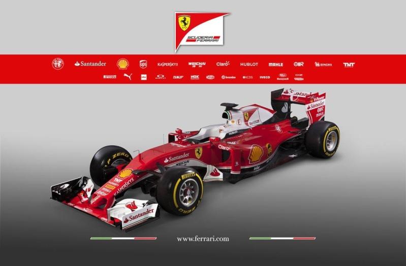 Saison 2016 - Présentations des F1 14861010