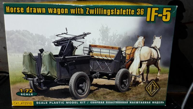 Attelage hippomobile d'affût Zwillingslafette 36 de 2 x MG 34 flak. [ ACE - 1/72° ] FINI 20160310