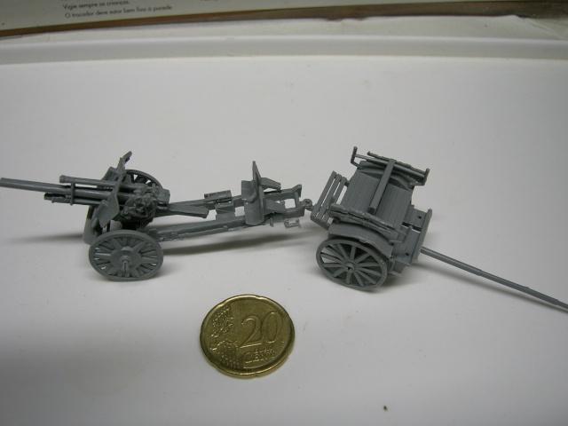 Attelage allemand d'artillerie FH-18 105 mm (revell) au 1/72--  fini------ Dscn3917