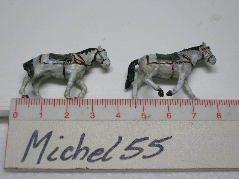 Attelage hippomobile d'affût Zwillingslafette 36 de 2 x MG 34 flak. [ ACE - 1/72° ] FINI Dscn3929