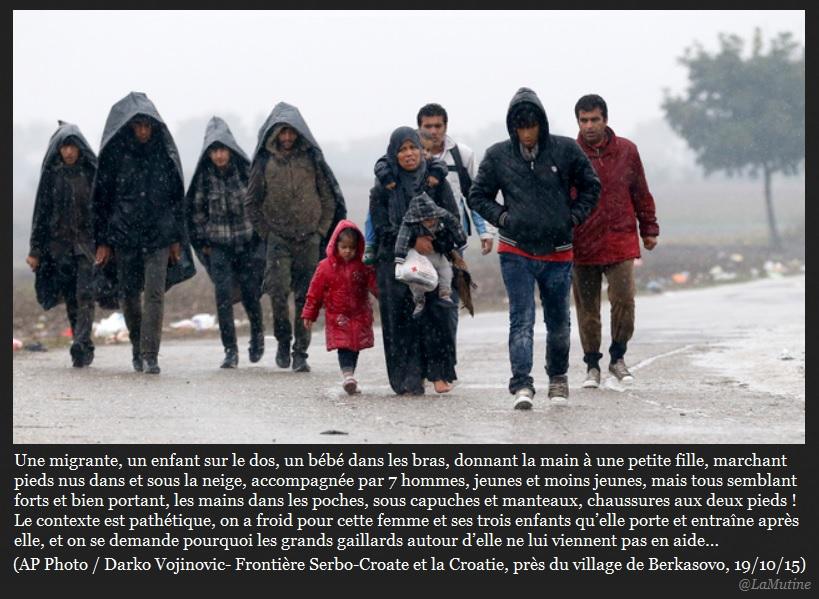 Migrants : le sort de la musulmane en un cliché  Migran10