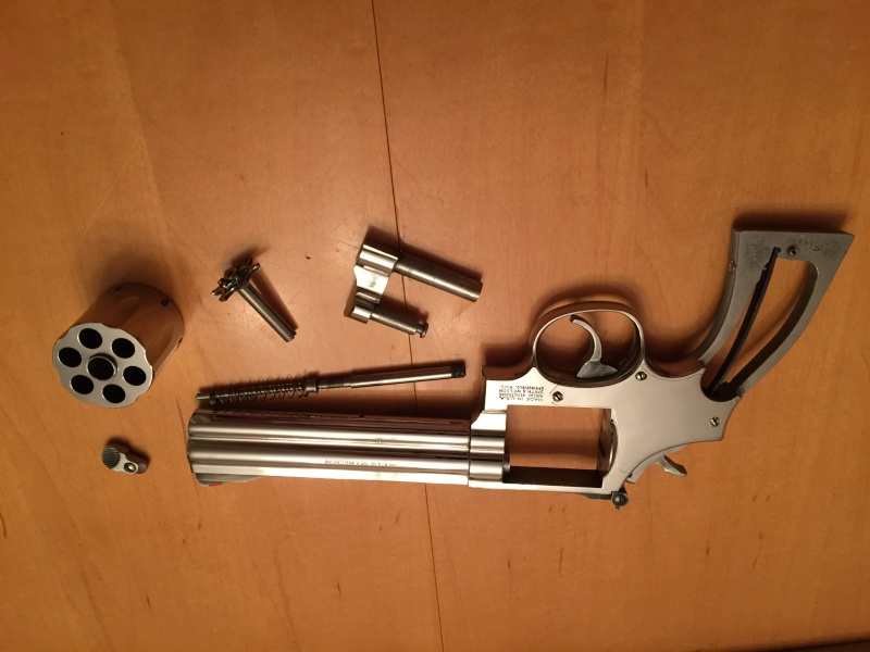 Polissage stainless sur mon 357 s&w Image10