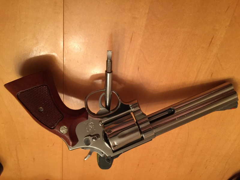 Polissage stainless sur mon 357 s&w Image11