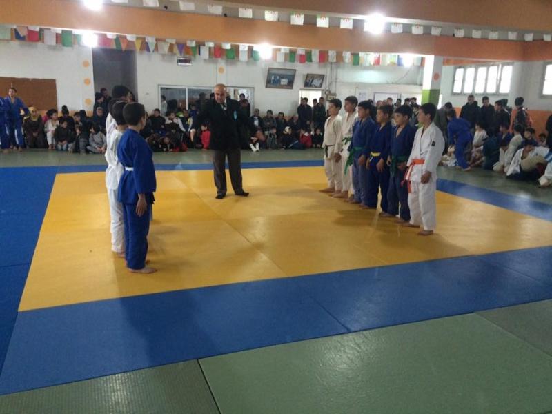 Tournoi de Judo à la mémoire  de Samir Meziane et Allaoua Belkasmi le 12 mars à Aokas  1010