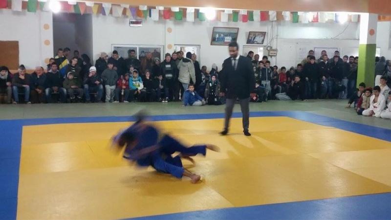 Tournoi de Judo à la mémoire  de Samir Meziane et Allaoua Belkasmi le 12 mars à Aokas  1410