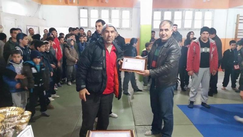 Tournoi de Judo à la mémoire  de Samir Meziane et Allaoua Belkasmi le 12 mars à Aokas  1610