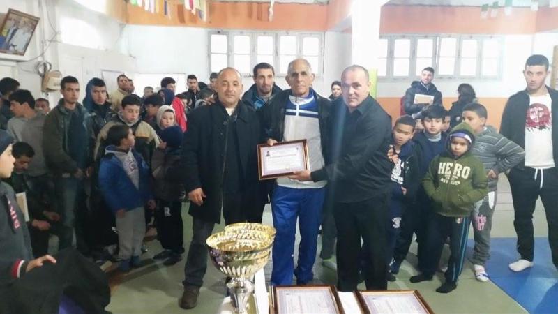 Tournoi de Judo à la mémoire  de Samir Meziane et Allaoua Belkasmi le 12 mars à Aokas  2010