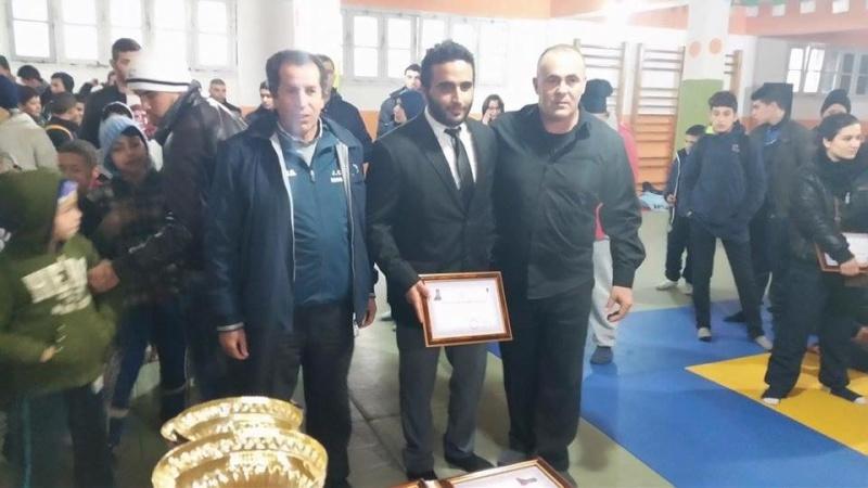 Tournoi de Judo à la mémoire  de Samir Meziane et Allaoua Belkasmi le 12 mars à Aokas  2110