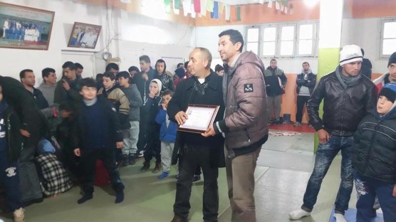 Tournoi de Judo à la mémoire  de Samir Meziane et Allaoua Belkasmi le 12 mars à Aokas  2210