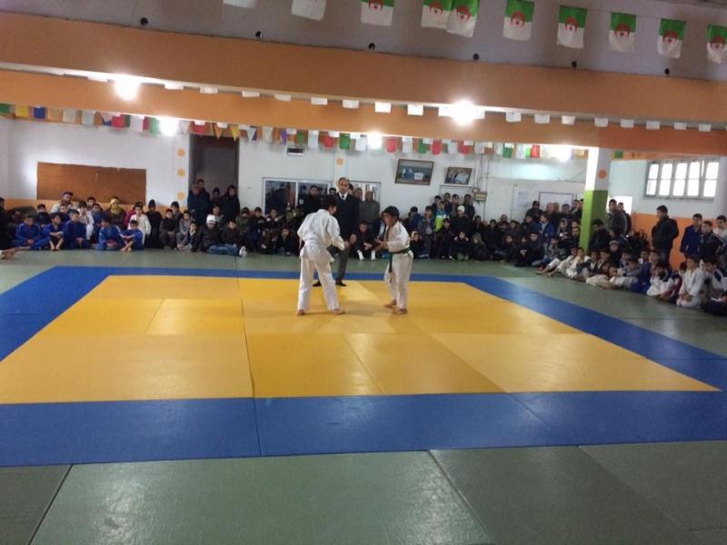 Tournoi de Judo à la mémoire  de Samir Meziane et Allaoua Belkasmi le 12 mars à Aokas  512