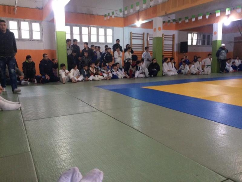 Tournoi de Judo à la mémoire  de Samir Meziane et Allaoua Belkasmi le 12 mars à Aokas  711