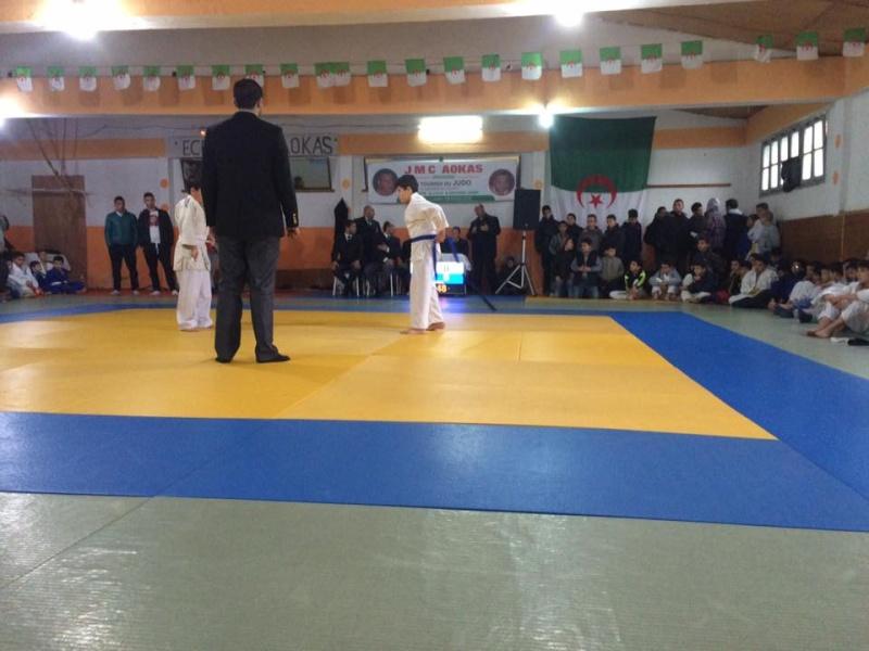 Tournoi de Judo à la mémoire  de Samir Meziane et Allaoua Belkasmi le 12 mars à Aokas  811