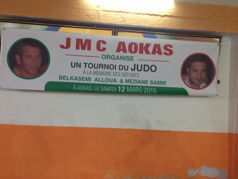 Tournoi de Judo à la mémoire  de Samir Meziane et Allaoua Belkasmi le 12 mars à Aokas  Tourno10