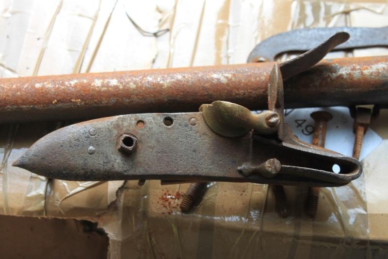 début de restauration d'un fusil mdle 1777 Img_8115
